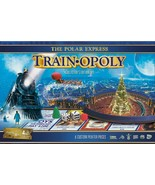 NEW SEALED Masterpieces Polar Express Trainopoly Board Game - $39.59