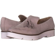 Franco Sarto Tammer Slip On Loafer Flats 346, Light Grey Suede, 10 US / 40 EU - $30.71