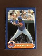 Mint 1986 New York Mets Fleer Update #76 Kevin Mitchell Rookie Rc Set Break - $1.99