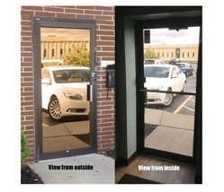 "Mirrored Bronze Privacy Window Film, 30"" x 100 ft - $378.99"