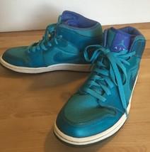 Nike AIR JORDAN 1 Phat Low Marine Blue Size 9 Basketball Sneakers 364770... - $56.73