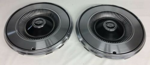 Primary image for ✅ NOS 1972 73 74 75 76 Ford Torino Hub Cap Set Pair D2oa-1130