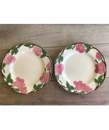 """Franciscan Desert Rose Dinner Plates Set 2 11"""" Modern Logo - $26.72"""