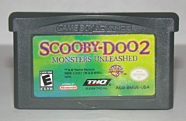 Nintendo GAME BOY ADVANCE - SCOOBY-DOO 2 - MONSTERS UNLEASHED (Game Only) - $8.00