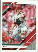#90 Miles Mikolas St Louis 2019 Panini Donruss MLB Baseball Card AAA - $2.02