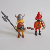 Playmobil Highwayman 3633 Viking Special 4519 Figures Vintage 1993 - $19.79
