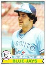 1979 Topps #152 Rick Cerone > Toronto Blue Jays > C - $0.99
