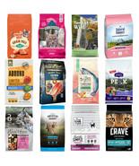 Grain Free Dry Cat Food VARIETY PACK of 12 Sampler Size Salmon/Fish Reci... - $29.70+