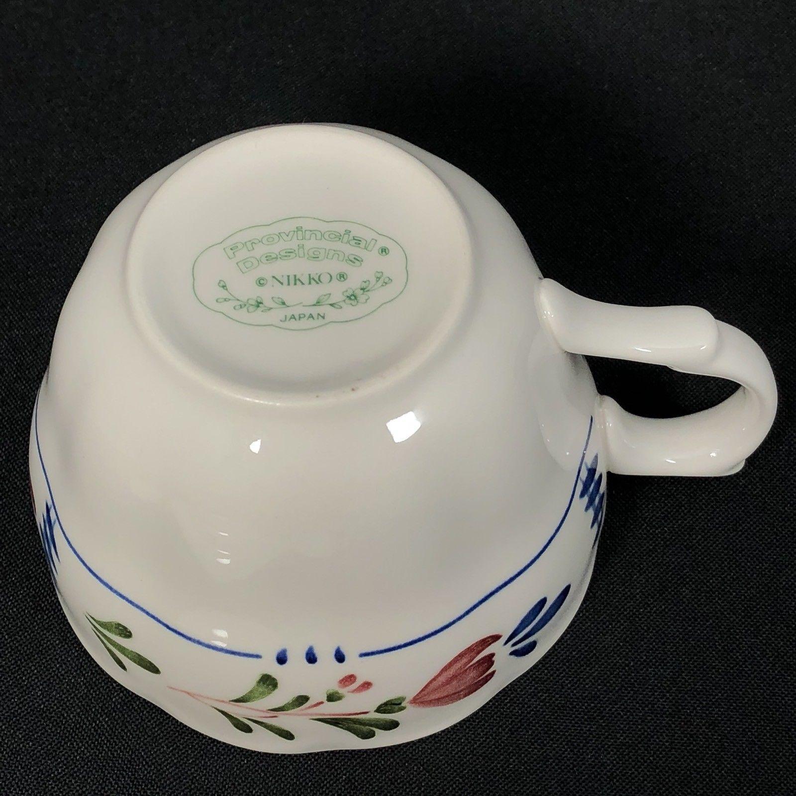 Nikko Provincial Designs Avondale Tea Cup Floral Japan