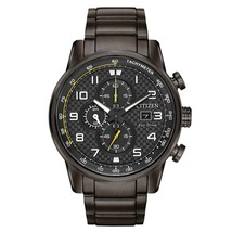 Citizen Men's Eco-Drive Black ion Chronograph Watch CA0687-58E image 1