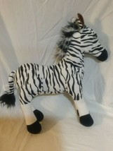 "Disney Store Zebra Plush Wild Animal Kingdom Park Lion King 15"" Stuffed ... - $17.81"