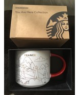 NEW 2018 Starbucks France YAH You Are Here  Ceramic Coffee Mug 16 oz - $59.39