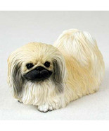 PEKINGESE DOG Figurine Statue Hand Painted Resin Gift Pet Lovers - $17.25