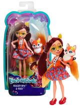 "Enchantimals Felicity Fox & Flick 6"" Doll New in Package - $12.88"