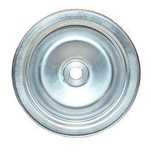 GM Saginaw Power Steering Pump Double-Groove Steel Pulley (Chrome) image 8
