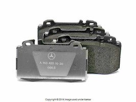 Mercedes w163 FRONT Brake Pad Set GENUINE +1 YEAR WARRANTY - $168.40