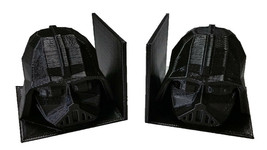 3D Printed Darth Vader Book Ends Printed By 3D Cauldron - $19.99
