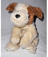 1998 Ty Classic Baby Patches Puppy Dog Brown Cream Plush Stuffed Animal - $29.68
