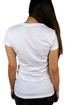 Levi's Women's Premium Classic Graphic Cotton T-Shirt Shirt Tee White size XL image 4