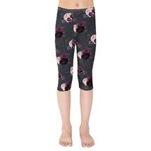 Gothic Roses Girls Capri Leggings - $35.99+