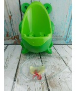 Frog Potty Training Boys Toddler Urinal w/Aiming Target Wall-Mount  - $13.85