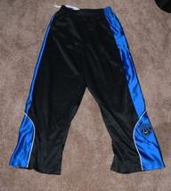 Nike Boys Basketball Athletic Pants Zip at Bottom Blue Black Size M 10-12 tb - $8.50