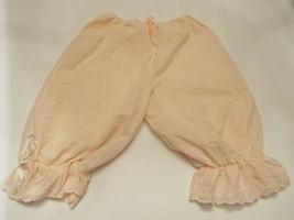 "VTG Vassarette ""Underneath it all "" womens bloomers Medium Peach cotton ... - $27.87"