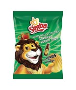 Simba Chutney Flavoured Potato Chips 125 g (Pack of 6)  - $40.00