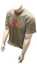 Nike Dri Fit Men's Tampa Bay Buccaneers Short Sleeve Shirt Gray Retro T-Shirt - $19.99