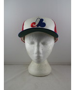 Montreal Expos Hat - Tri Colour Classic by Starter - Adult Snapback - $69.00