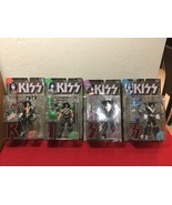 KISS Autographed Action Figures, Complete Set, McFarlane Toys NIB 1997 - $120.00