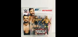 WWE Miztourage Battle Pack 2 Action Figure Pack Curt Axel & Bo Dallas Se... - $33.65