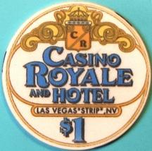 $1 Casino Chip. Casino Royale, Las Vegas, NV. M34. - $3.99