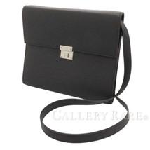HERMES Clic 16 Veau Epsom Blue Indigo Wallet Shoulder Bag France #A Auth... - $2,283.09