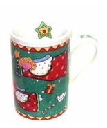 Angels Santa Stars Holiday Coffee or Cocoa Mug   CHRISTMAS  - $9.89