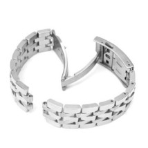 19mm Replacement Stainless Steel Watch Band For Tissot PRC200 T17 T461 T... - $17.94