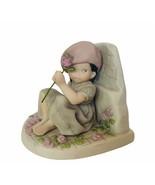Pretty as Picture Figurine Kim Anderson Enesco Wish Future You bookend b... - $28.98