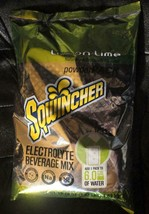 Sqwincher Lemon Lime Electrolyte Beverage Mix 3.57 Lbs Makes 6 Gallons P... - $39.59