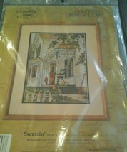 Something Special Counted Cross Stitch Snoozin' 50536 New - $25.73