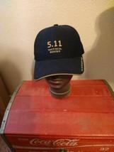 5.11 Tactical Series Black First Responder Fire Police Cap Hat Adjustable LA  - $14.80