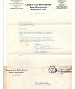 1967 John H. Buchanan member Congress Type Signed Letter Free Frank Cover  - $20.00
