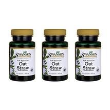 Swanson Full Spectrum Oat Straw 400 mg 60 Caps 3 Pack - $19.14