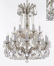 Made with Swarovski Crystal Maria Theresa Chandelier Lights Fixture Pendant Ceil - $781.40