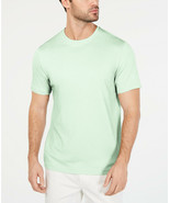 NEW MENS TASSO ELBA SUPIMA® BLEND CREW NECK GREEN T SHIRT TEE S - $9.89