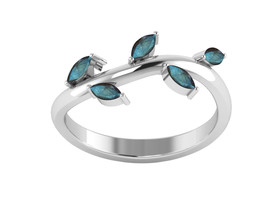 Blue Fire Labradorite 925 Sterling Silver Ring Shine Jewelry Size-10 SHR... - €12,08 EUR