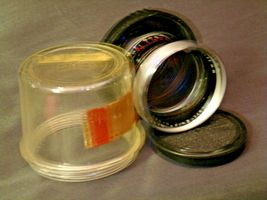 Carl Zeiss Pro-Tessar Lens f=85mm with fitted Zeiss Ikon Case AA-192032 Vintage image 3