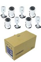8x 4MP Outdoor CCTV Security Camera Fixed HD-CVI CVBS 2K IR Bullet OEM D... - $285.95