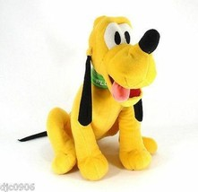 DISNEY LARGE PLUTO THE DOG PLUSH TOY-LICENSED STUFFED TOY-DISNEY PLUSH-N... - $29.69