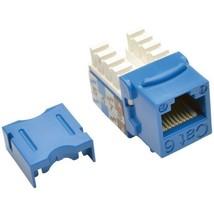 Tripp Lite N238-001-BL CAT-6/CAT-5e 110-Style Punch-down Keystone Jack (Blue) - $20.24