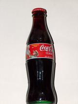COCA COLA CLASSIC 8oz UNOPENED XMAS 1999 SANTA & GIRL CHILD BOTTLE FREE ... - $9.18